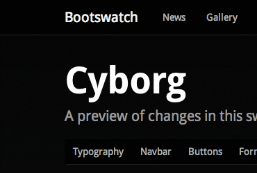 Bootswatch: Free themes for Bootstrap 2 3 2