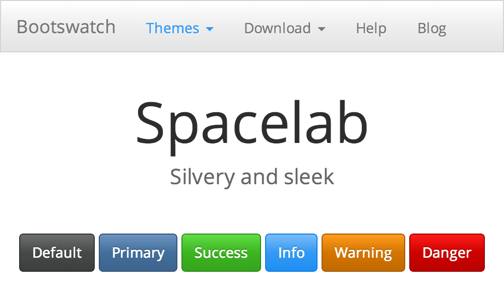 Spacelab theme's thumbnail