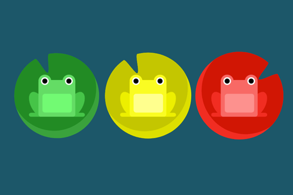 Flexbox Froggy: A game for learning CSS Flexbox