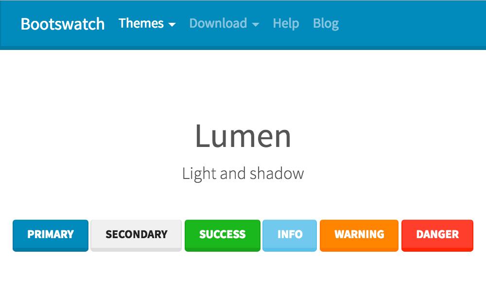Lumen theme's thumbnail