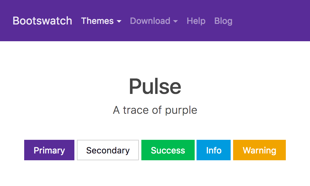 Pulse theme's thumbnail