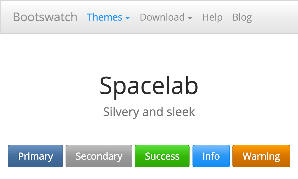 Spacelab Theme template