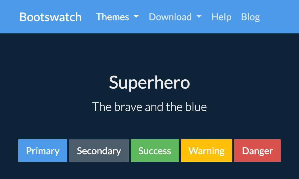 超级英雄主题